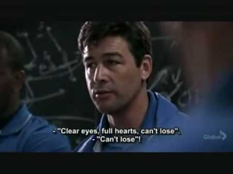 Clear Eyes Full Hearts Cant Lose Friday Night Lights Youtube