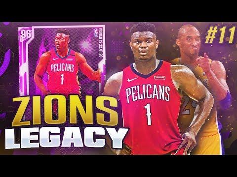 ZIONS LEGACY #11 - KOBE BRYANT TRIBUTE! NBA 2K20 MYTEAM!!