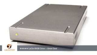 LaCie 80GB Portable External Hard Drive with Firewire and USB 2.0 Interface (300765) | Review/Test
