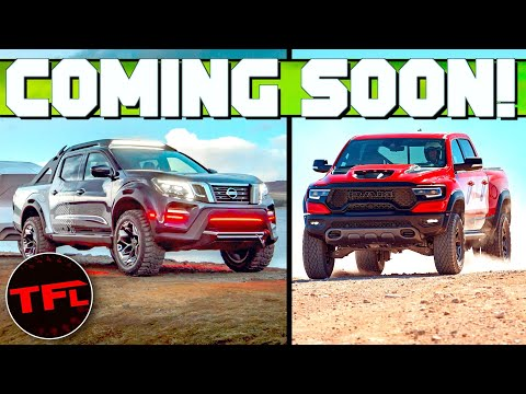 These Are The Top 10 HOTTEST Trucks Coming In 2021!