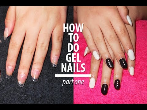 How To Ly Fake Tips And Do Gel Nails Part 1