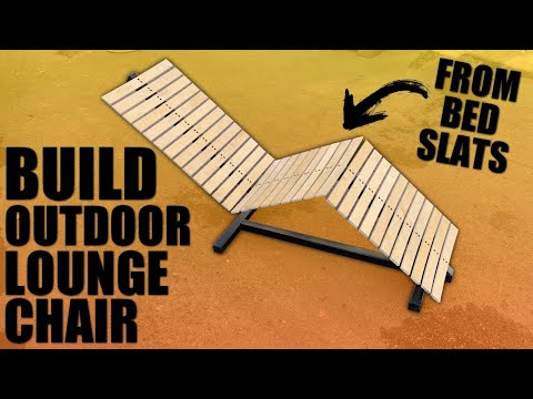 How to Make a Outdoor Lounge Chair Design