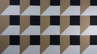 Pintura Decorativa Efeito 3D, Passo a Passo Facíl de Fazer