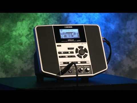 eBand JS-10 Audio Player with Guitar Effects Overview - Roland Connect Sept. 2012