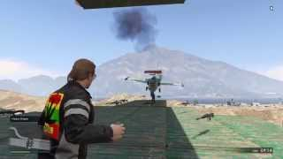 GTA5 Shooters Vs Everything Dodge that Plane