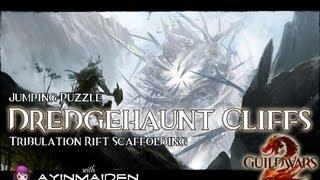 ★ Guild Wars 2 ★ - Jumping Puzzle - Dredgehaunt Cliffs (Tribulation Rift Scaffolding)