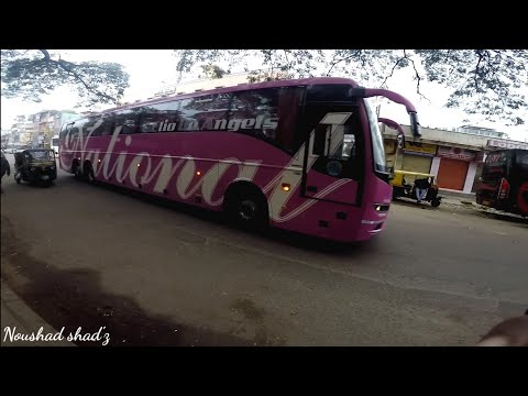National Travel's VOLVO B11R arriving from mumbai - MY FIRST EVER TRY with GoPro!!!