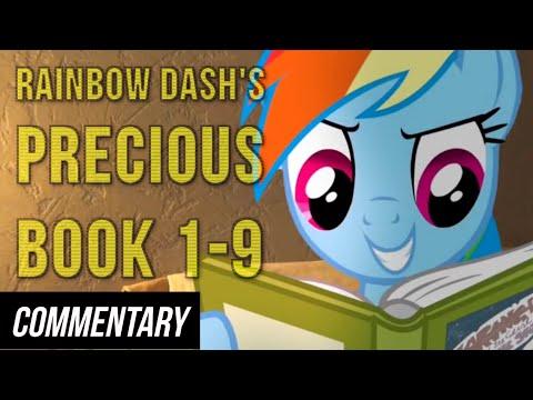 [Blind Commentary] Rainbow Dash's Precious Book Part 1-9