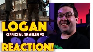 REACTION! Logan Official Trailer #2 - Hugh Jackman #Wolverine #Marvel Movie 2017