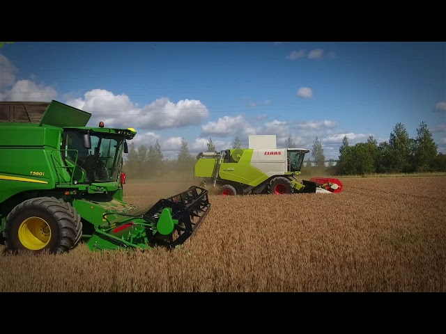 John Deere | T-Series impressive performance in the field