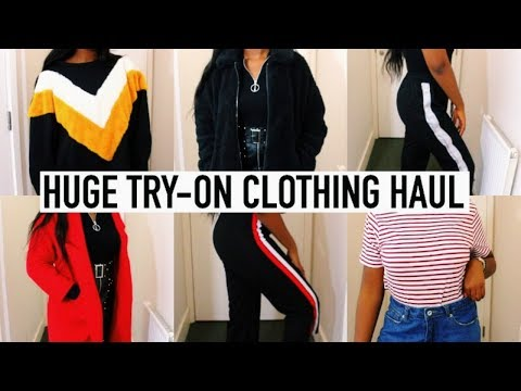 MASSIVE TRY-ON FALL CLOTHING HAUL | What To Wear This Autumn