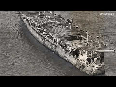Historic underwater visit to atomic test ship USS Independence, 65 years later