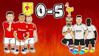 🤯5-0! Liverpool CRUSH Manchester United🤯(Goal Highlights Salah Jota Pogba Red)