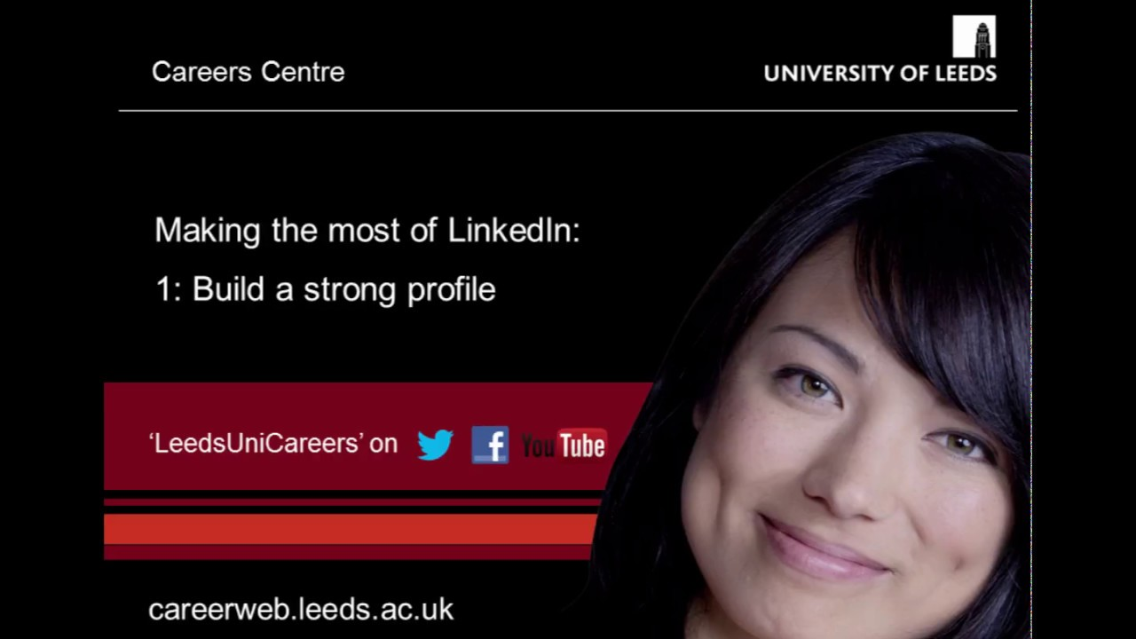 1. How to create a strong student LinkedIn Profile - YouTube c170f3f64b1