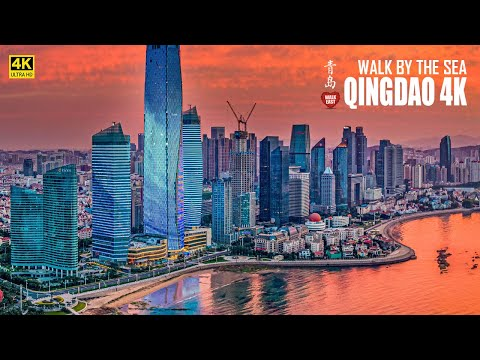 Qingdao Walking By the Sea | An Exceptional Coastal City In Shandong Province | China | 青岛 | 海边浴场