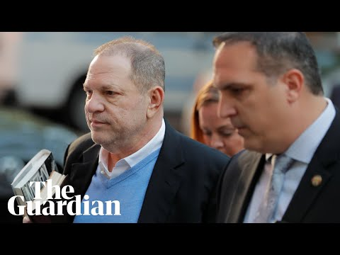 Harvey Weinstein hands himself in over sexual misconduct charges