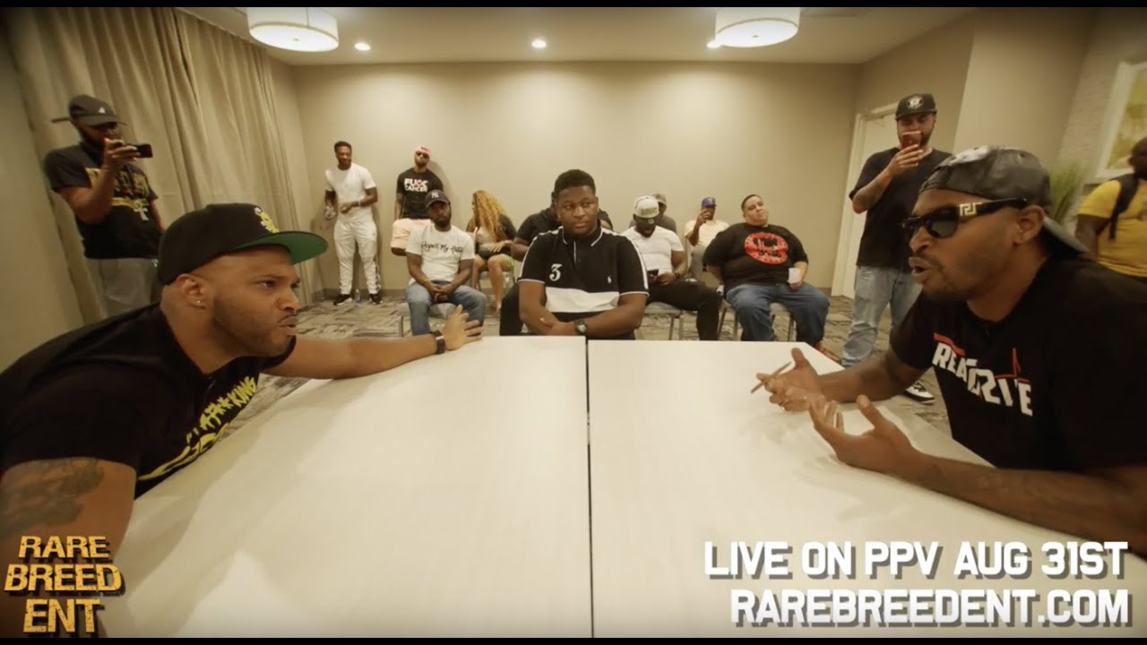 MATH HOFFA VS SERIUS JONES FULL RBE FACE OFF