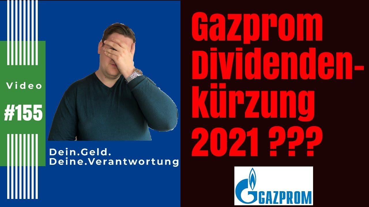 Gazprom Dividende Auszahlungstermin 2021