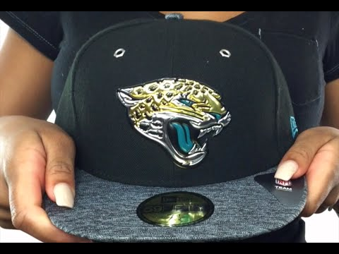 Jaguars  2016 NFL DRAFT  Fitted Hat by New Era - YouTube 4e8f9c2e4f0