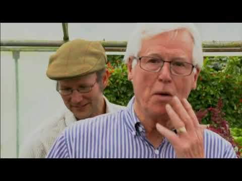 Organic farming. The harvest.  BBC Countryfile