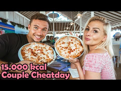 15.000 Kcal Fitness Couple CHEAT DAY Challenge