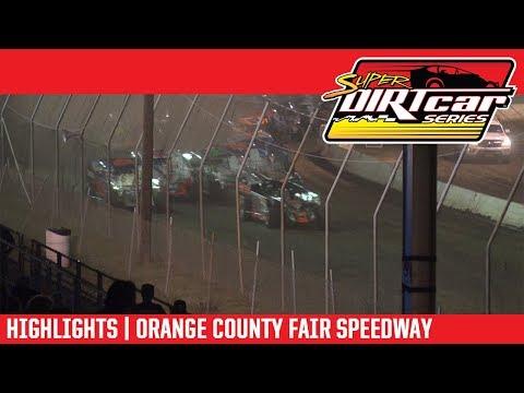 Super DIRTcar Series Big Block Modifieds Orange County Fair Speedway July 19, 2018 | HIGHLIGHTS