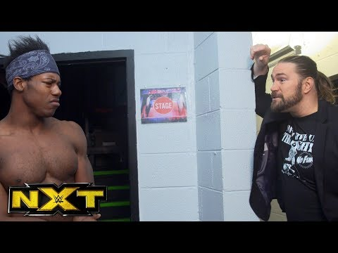 Kassius Ohno has a wakeup call for Velveteen Dream: NXT Exclusive, Jan. 24, 2018