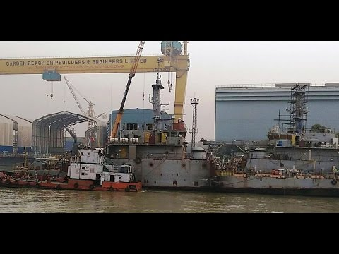 Building Warships  - Garden Reach Shipbuilders & Engineers (GRSE)