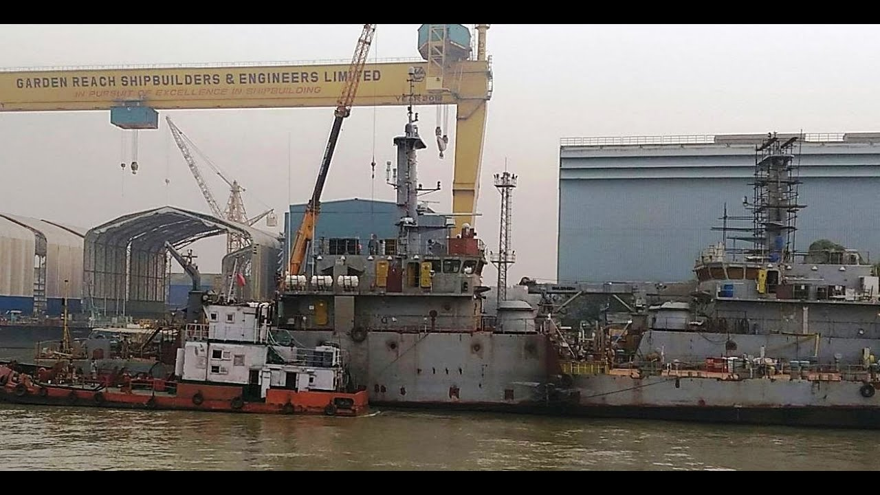 Image result for Garden Reach Shipbuilders