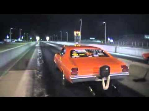 tricky ricky thomas at sikeston dragstrip