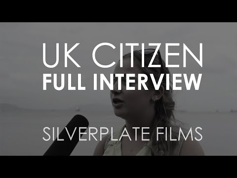 UK Citizen (FULL INTERVIEW) - Cleanliness Documentary   Silverplate Films