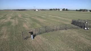 Wrangler Portable Corral Fold Out | Livestock Equipment