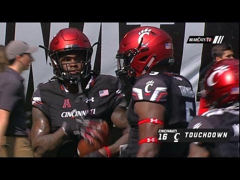 Football Highlights: Cincinnati 37, Tulane 21 (Courtesy ESPN)