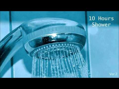 10 Hours - Shower Relaxing Water Running Ambient Sleep Sounds  ducha  Dusche