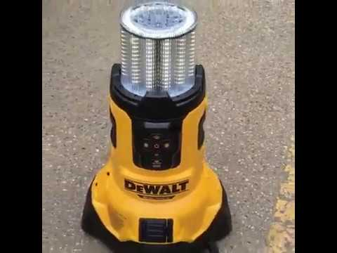 Dewalt Dcl070 20v Max Bluetooth Led Large Area Light