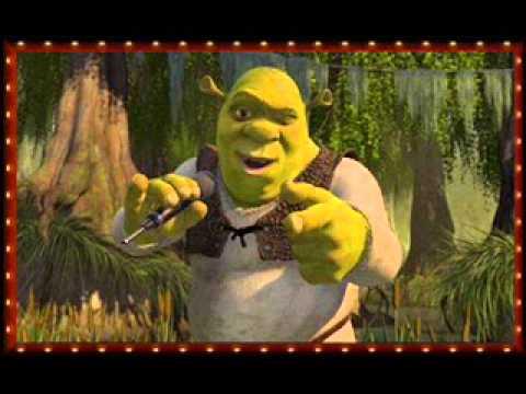 Shrek - Shrek's karaoke dance party - YouTube