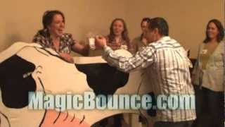MagicBounce Cow Milking Contest