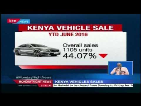 New motor vehicle sales go down in Kenya