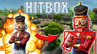Do skins change the hitbox to Fortnite? - Hit Detection Myth Busted | Fortnite Battle Royale