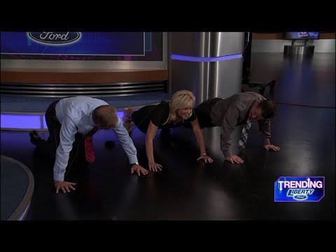 Fox 8 News | 22 Pushup Challenge #22Pushups