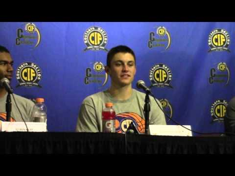 2016 Division 2A Basketball Press Conference - Santa Barbara