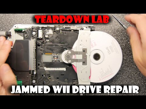 TDL- How to fix a jammed Wii drive