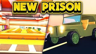 NEW PRISON & MILITARY JEEP NEXT UPDATE! (ROBLOX Jailbreak)
