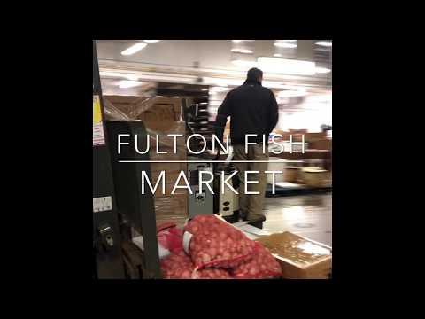Inside The Fulton Fish Market