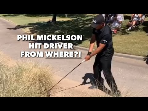 Phil Mickelson's driver off the deck compilation