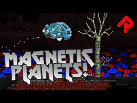 Starbound Magnetic Planets Mod: Crazy Gravity Weather & Metallic Rain! |  Best Starbound mods