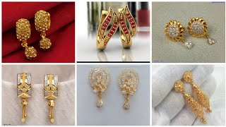 Amazing Different Style of Gold Earring's / Top Trending  Gold Jewellery Collection