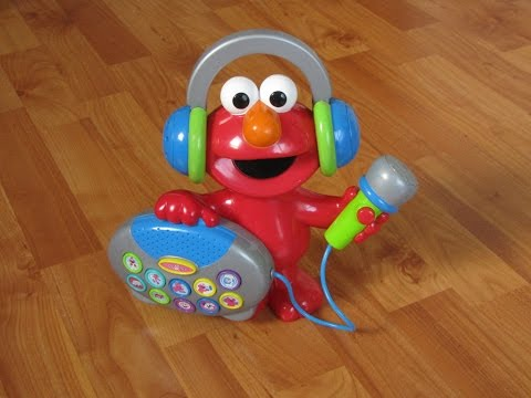 Sing with Elmo's Greatest Hits Great Musical Toy