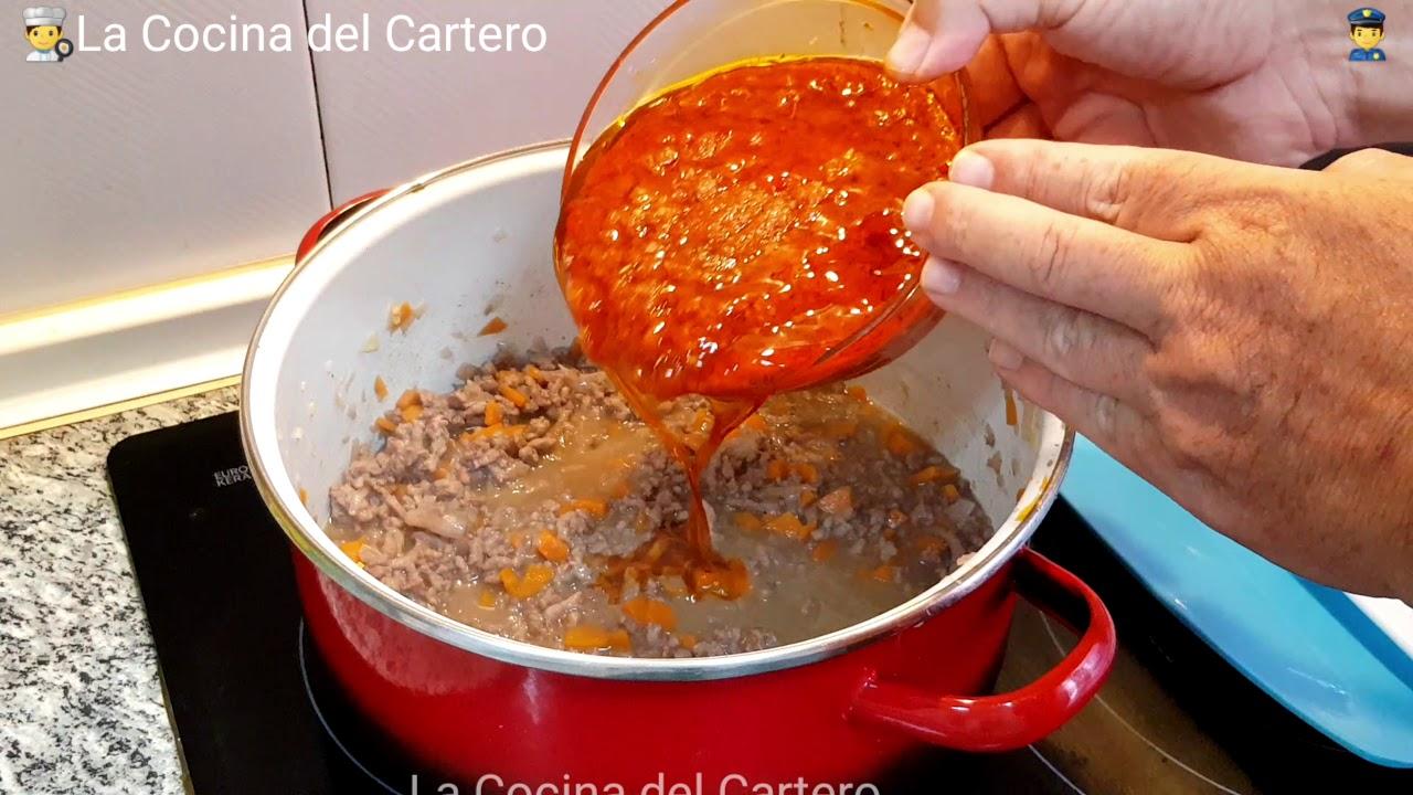 Cómo preparar salsa boloñesa. Receta para pasta.