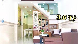 Bán nhà gò vấp (207) Ngôi nhà nho nhỏ nhưng có VÕ. Thiết kế bố trí hài hoà, đầy đủ công năng sử dụng